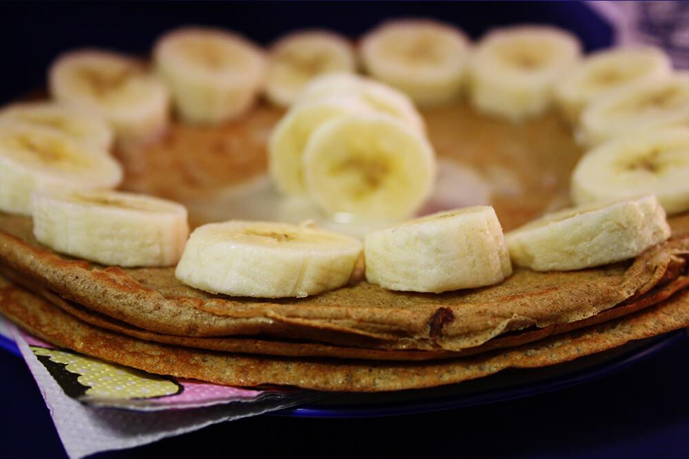 Pfannkuchen ohne Mehl und Zucker