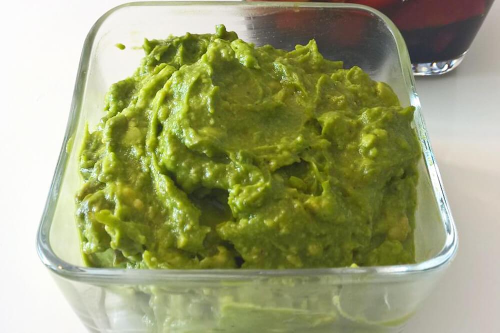 Einfacher Dip aus Avocado