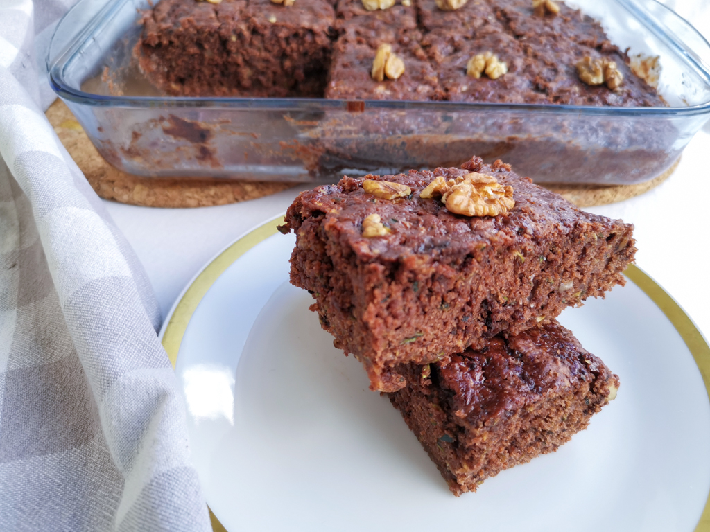 Brownies vegan mit Zucchini